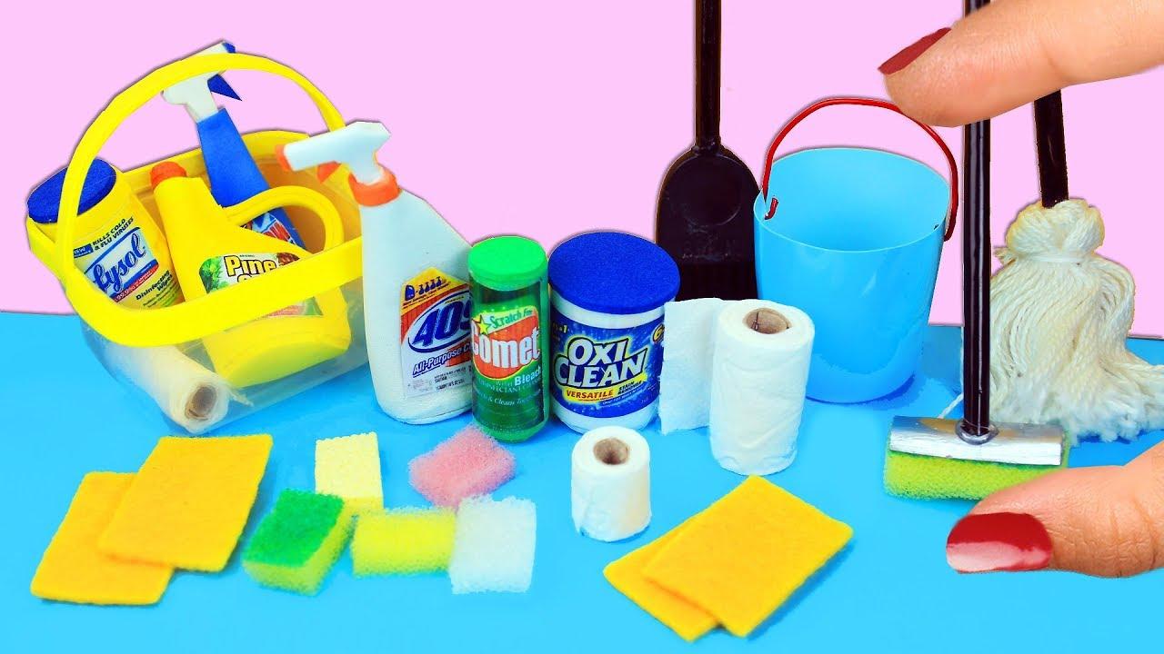 Como Hacer Cosas De Limpieza En Miniatura Que Si Funcionan 10 - Cosas-para-hacer-de-manualidades