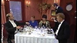 André van Duin - Etiquette in restaurant