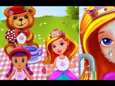 Princess Girls Club Games TutoTOONS Kids Games Educational Android İos Free Game GAMEPLAY VİDEO - 동영상