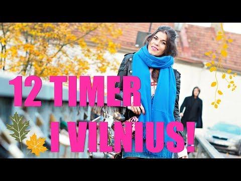 12 timer i Vilnius