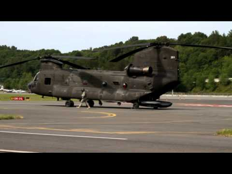 CH-47D Chinook Startup