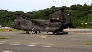 CH 47D Chinook Startup