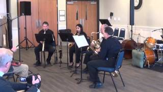 North Oakland Concert Band Sax Quartet