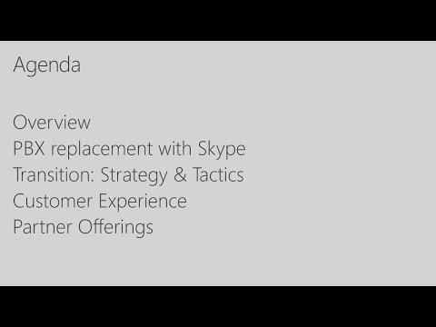 Migrating from your Avaya PBX to Skype for Business Voice -
