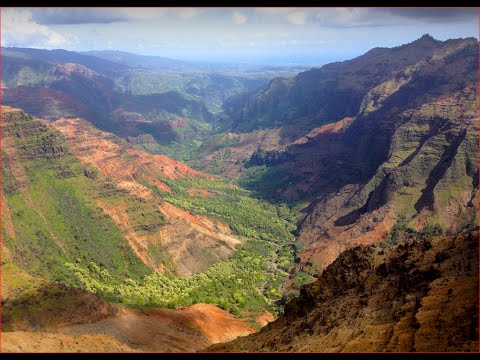 Visiting Waimea Canyon State Park, State Park in Waimea Canyon Dr, Waimea, HI 96796, United States
