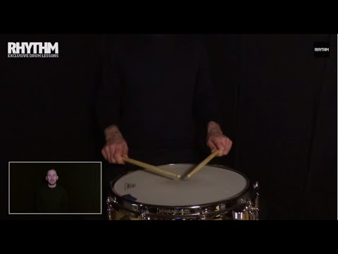 Quick drum lesson: how to fix your drum stick grip