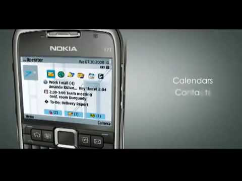 Nokia E71 Official Video