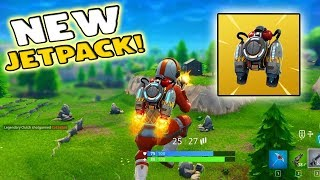 JET PACK FOUND IN FORTNITE! (Will it ruin this game?!?)