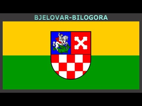 Flags of counties of Croatia - Vlajky Chorvatských žup