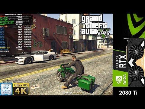 Grand Theft Auto V Ultra Settings 4K | RTX 2080 Ti | I7 8700K 5.3GHz