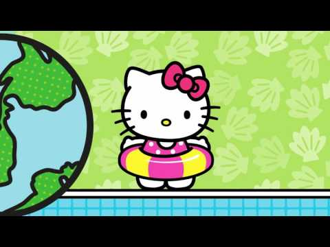 Salto Ornamental   O Mundo da Hello Kitty