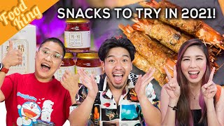 Top SNACKS To Upgrade Your Year!!