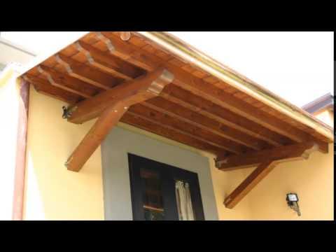 Istruzioni di montaggio delle pensiline in legno con for Pensiline in policarbonato amazon