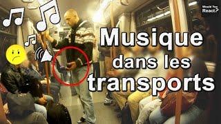 EXPÉRIENCE SOCIALE #15 : LA MUSIQUE À FOND DANS LES TRANSPORTS ! 😡