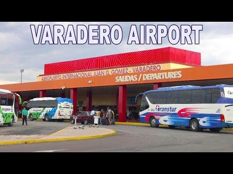 VARADERO AIRPORT - CUBA , JUAN GUALBERTO GOMEZ AIRPORT 2017 4K
