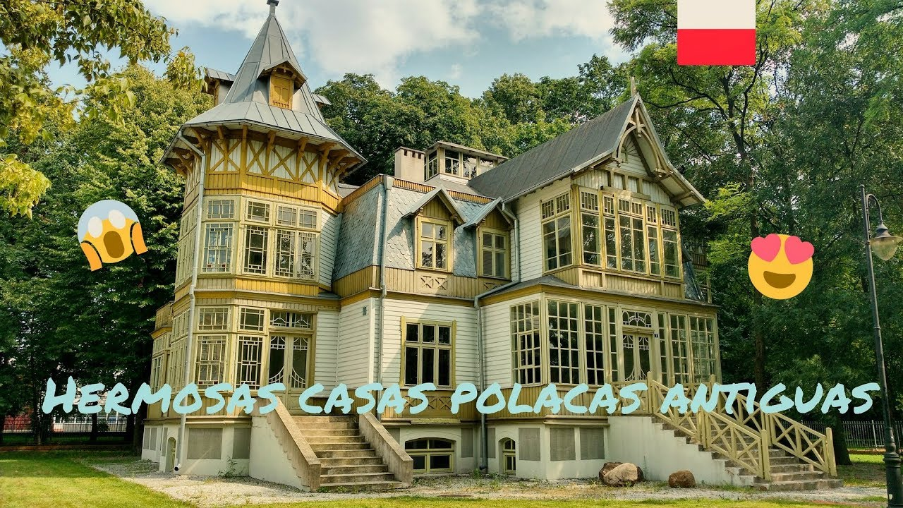 C mo son las casas polacas antiguas por dentro casitas polacas de madera youtube - Casas de madera por dentro ...