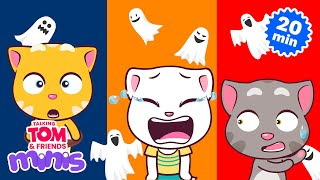 THE SPOOKY NIGHT - Talking Tom and Friends Minis Cartoon Compilation (21 Minutes)