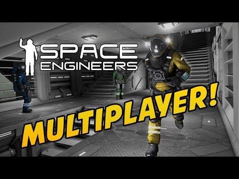 Space Engineers ITA Ep.7 - GARA MULTIPLAYER! w/ Konversato