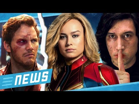 Ist Captain Marvel die Ex von Starlord & Star Wars 9 Endgegner nicht Kylo Ren - FLIPPS News