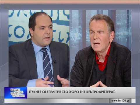 """""""Παρών"""" δηλώνει ο Σπύρος Βούγιας στις εξελίξεις στο Δήμο Θεσσαλονίκης-β' μέρος(TV100-310317)"""