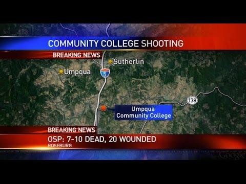 Live stream: Community college shooting in Roseburg, Ore.