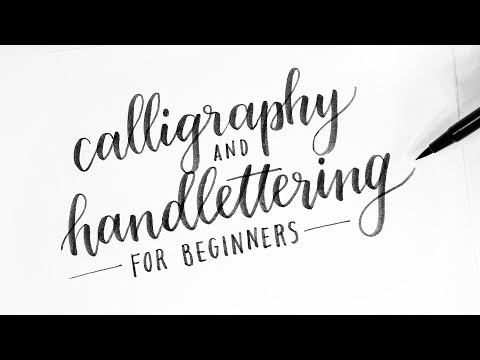 How To: Calligraphy & Hand Lettering for Beginners! Tutorial + Tips! Mp3