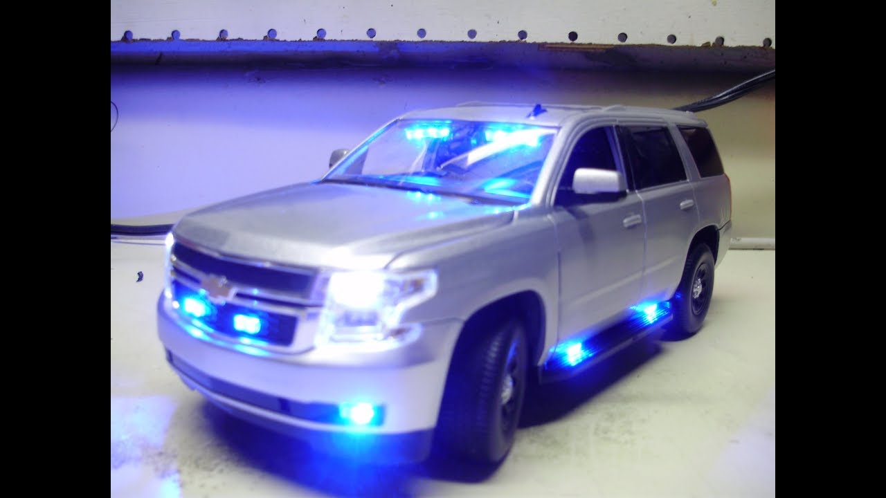 Police Cars For Sale >> James' custom 2015 Chevy Tahoe slicktop PPV diecast police ...