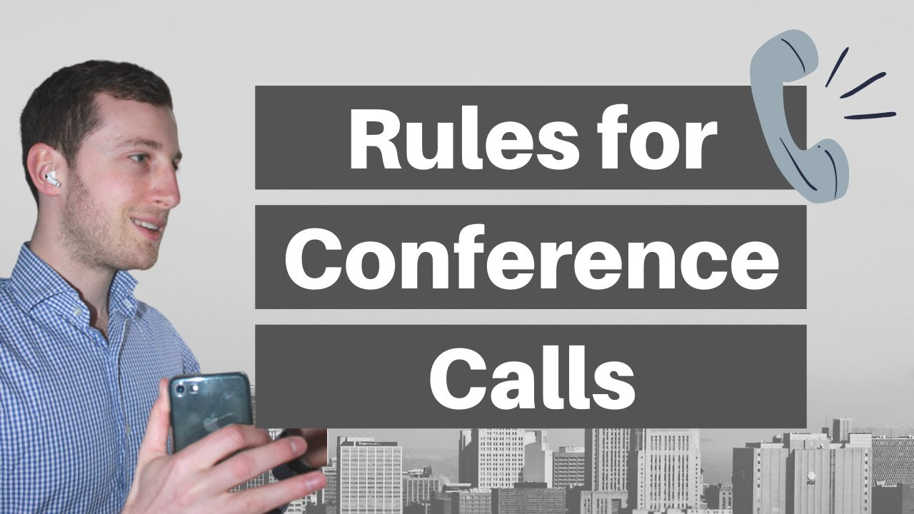 CONFERENCE CALL RULES – What to do and not to do on telephone conferences (home office tips)
