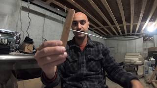 How to make a must have fishing tool (hook out, disgorger, dehooker)