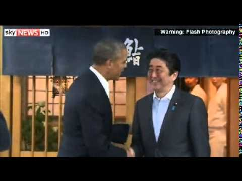 Obama Backs Japan In Islands Row With China