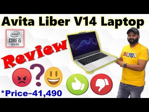 Avita Liber V14-  FULL REVIEW   6 hours battery   Fingerprint Reader -  Rs. 41,490