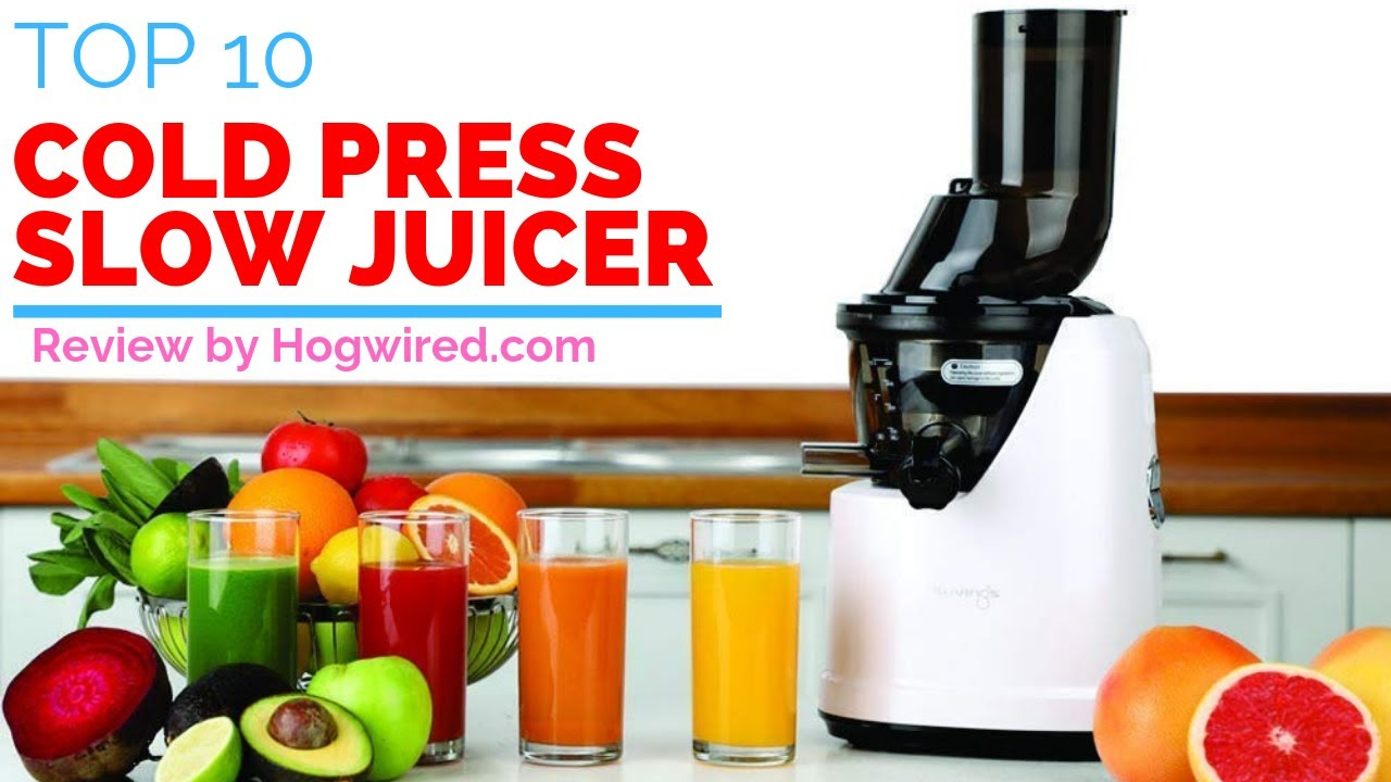 Top 10 Best Cold Press Slow Juicers In India With Price | Brand Comparison