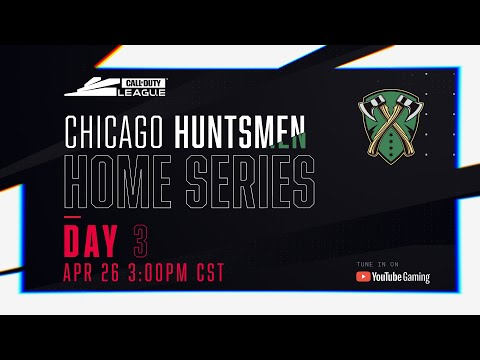 Call Of Duty League 2020 Season | Chicago Huntsmen Home Series | Day 3