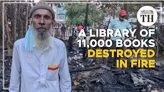 Over 11,000 books in poor man's library destroyed in Mysuru