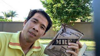 Trương Quốc Huy: Khui Thùng MRE - Lính Mỹ Ăn Lương Khô Có Gì ?