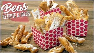 Schürzenkuchen Rezept | Karnevalsgebäck Faworki Art