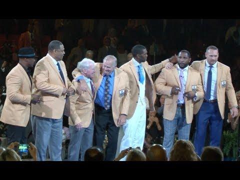 hot sale online 01380 89968 Pro Football Hall of Fame | 2018 Enshrinees' Gold Jacket Dinner