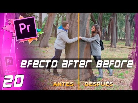 EFECTO AFTER AND BEFORE | Cap: 20 | Curso Adobe Premiere Pro CC 🎬