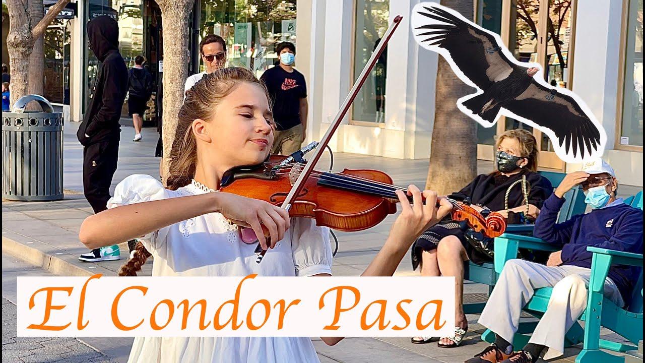 El Condor Pasa 🦅 - Mom and Daughter - Amazing Performance - Violin and Piano Cover