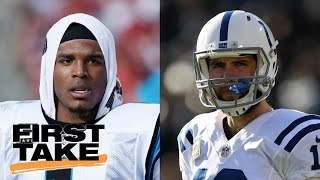 Andrew Luck Or Cam Newton? Take Your Pick | First Take | May 12, 2017