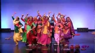 Raunak Trinjana Di @ Tor Punjaban Di Giddha Competition 2012