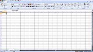 Introduction to Microsoft Excel 2007 for Absolute Beginners<