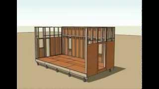 Tiny House Plans Video 12x24