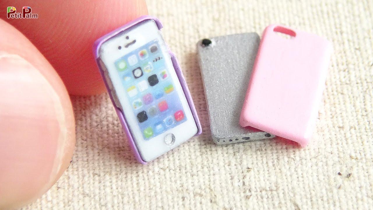 Miniature iPhone u0026 Phone Case DIY - Petit Palm - YouTube