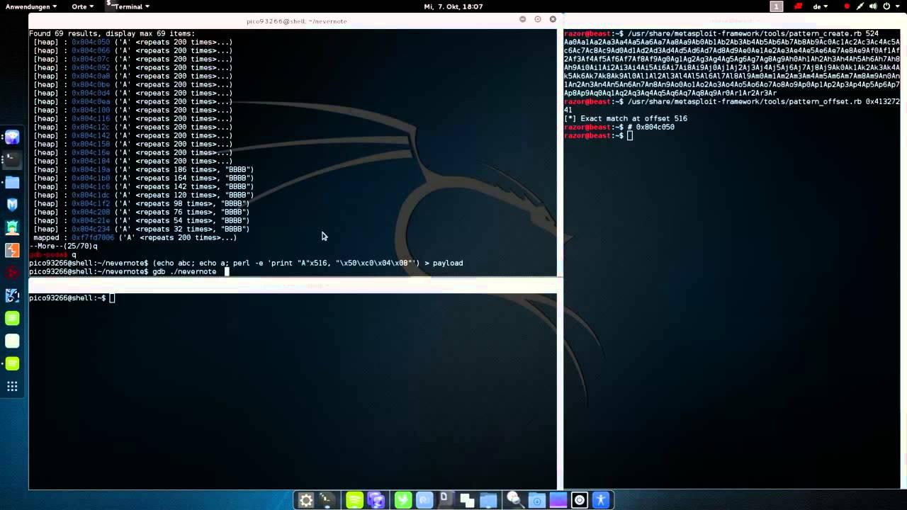 Pico CTF 2014 - Nevernote (Exploit)