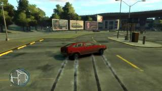 GTAIV Gameplay On 9600GT - Gol LS Turbo! - By KamikazeRJ