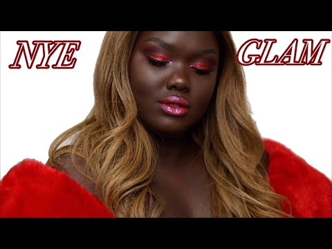 THE FINALE! -NYE Makeup Look 2018    Nyma Tang