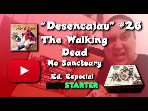 """""""Desencajau"""" (unboxing) #26 The Walking Dead No Sanctuary con Detallado de minis 360º"""