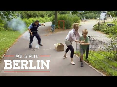 Kisten voller verbotener Böller: Max 9 in großer Gefahr  Auf Streife - Berlin  SAT1 TV