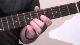Coldplay  42 The Guitar Part Tutorial
